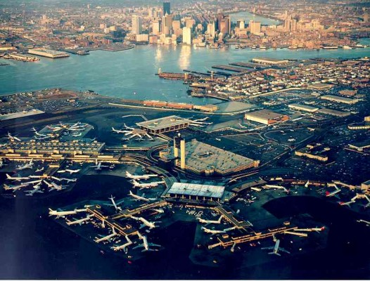 Logan Airport, Boston Massachucetts.