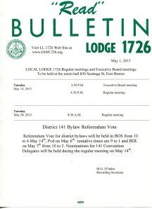may bulletin