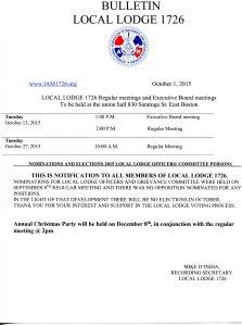 Oct Bulletin