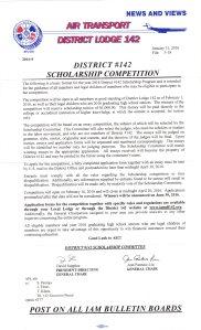 DL 142 Scholarship
