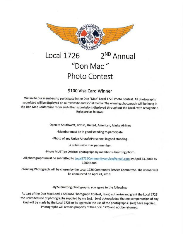 locasl 1726 photo contest